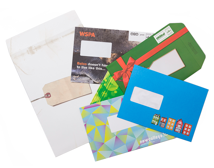 Looking for something a bit different? We can create bespoke envelopes  that will make the right impact.