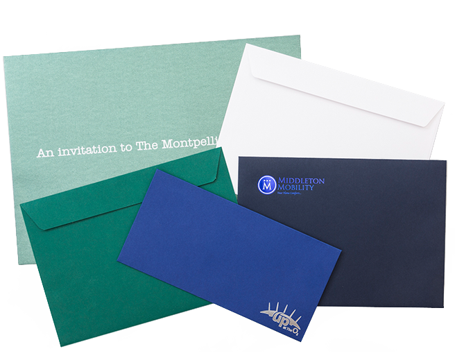 Personalised Envelopes that will send the right message to your customers.