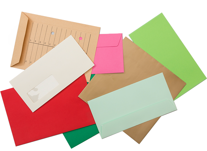 465 different standard plain envelopes to choose from. Variety is the  spice of life so make your choice!